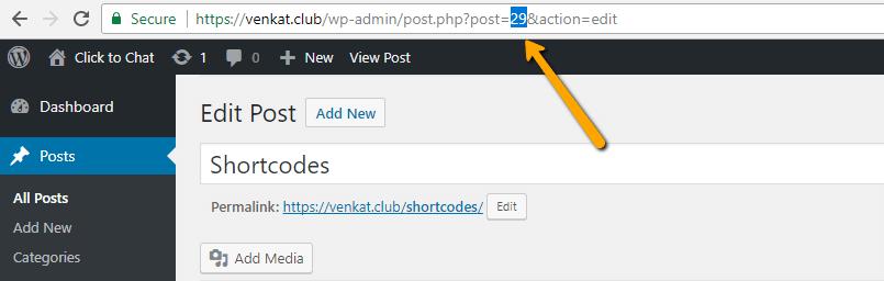 post type - post