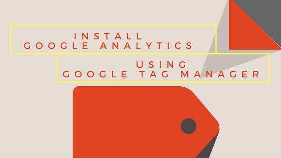 install google analytics using google tag manager