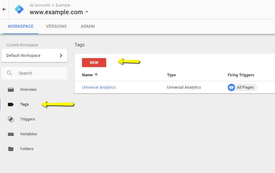 create tag