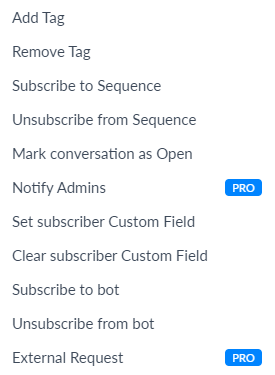 How to use Keywords in ManyChat Chatbot