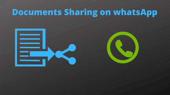 Now, You can share documents on whatsapp
